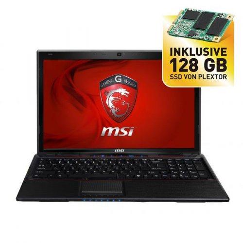 """MSI 15,6"""" Gaming Notebook mit mattem FullHD und GeForce GTX660M Grafik + 128 GB SSD (unmontiert) für 694,-€"""