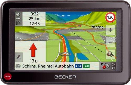 Becker Ready 43 Traffic V2 Navigationsgerät3D Geländeansicht mit  3D Sehenswürdigkeiten @AMAZON