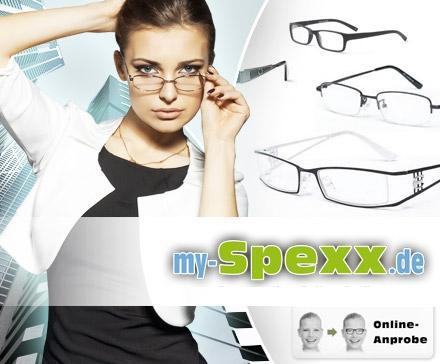 @ProSiebenProducts 20 Euro Gutschein für 5 Euro für my-spexx.de Brillen