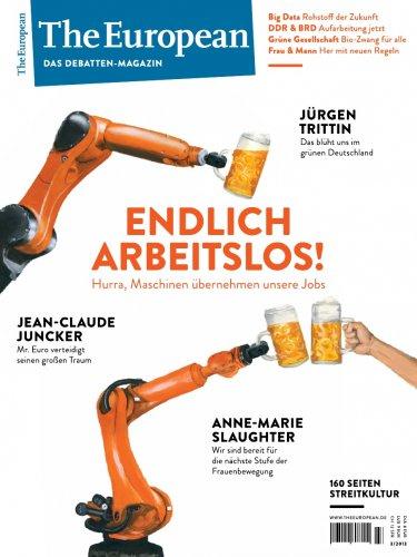 """1 Ausgabe The European: """"Endlich arbeitslos"""" kostenlos statt 8€"""