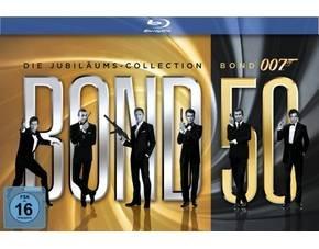 [MP] James Bond - Bond 50 Die Jubiläum Edition 22 Blu-Rays 72,68 € inkl. Versand, mit 15%MP Gutschein evtl. für 67,15 €