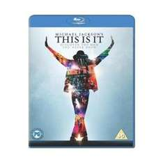 Michael Jackson's - This is it BLU-RAY auf play.com 3,34 € versandkostenfrei
