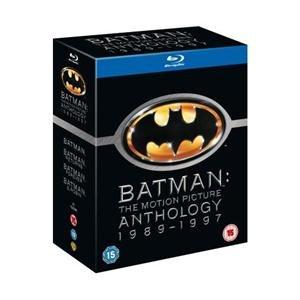 Batman: The Motion Picture Anthology 1989 - 1997 (4 Disc) (Blu-ray) für 16.35 € @ Amazon.de [zoverstocks]