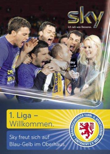 """Sky komplett Angebot am  """"Tag der Eintracht"""" 23.06.2013 Braunschweig"""