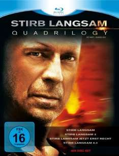 [Amazon WHD] Stirb Langsam - Quadrilogy 1-4 [Blu-ray] (16 Stück)