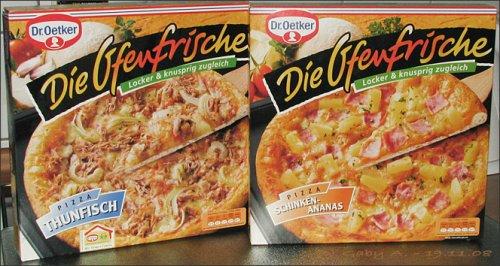 """[Offline / Globus / lokal?] Dr Oetker """"Die Ofenfrische"""" TK Pizza versch. Sorten für 1,66"""