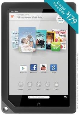 """(USA) 9"""" Tablet NOOK HD+ 1920x1280 IPS Dispay 32GB für ca.190€ mit Versand und Zoll nach Deutschland (179$ statt 299$ ab USA)"""