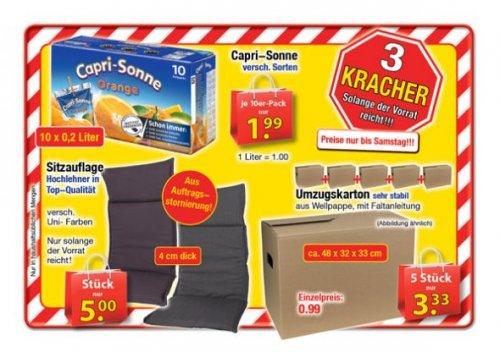 [CenterShop] 5 Umzugskartons 48x32x33cm für 3,33€. Pro Stück 66,6 Cent!
