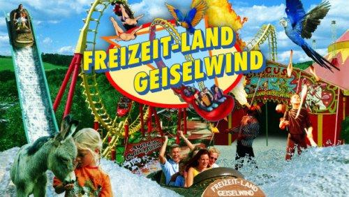 Freizeit-Land Geiselwind (zwischen Würzburg / Nürnberg) Zwei Tagestickets zum Preis von einem (+2€ Versand)