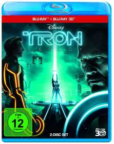14,97 Tron Legacy Blu Ray 2D+3D