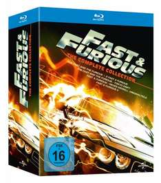 Fast & Furious 1-5 The Collection auf Blu ray für 22,97 Euro bei Amazon