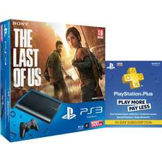 Sony™ - PlayStation 3 Slim 500GB & The Last Of Us & 90 Tage PS+ für €234,40 [@Zavvi.com]