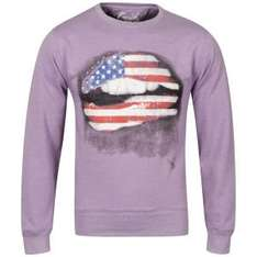 Cinch Men's Pucker Photo Print Crew Neck Sweatshirt für 12,49€ @TheHut