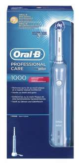 [Amazon] Braun Oral-B Professional Care 1000 Blitzangebot + Cashback von Oral-B