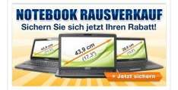 Medion Notebooks - durch Gutscheine günstig kaufen @Medion (z.B. für 599€ statt Idealo: 699€)