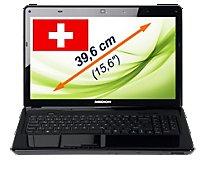"""15,6"""" Notebook mit Full HD Display, Blu-Ray Laufwerk und i7 2 Generation"""