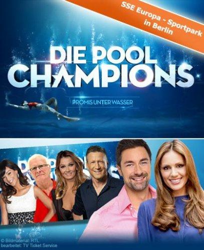 """{Berlin} Freikarten für die RTL Show """"Pool Champions"""" Freitag 20.15Uhr im SSE Schwimmbad!"""