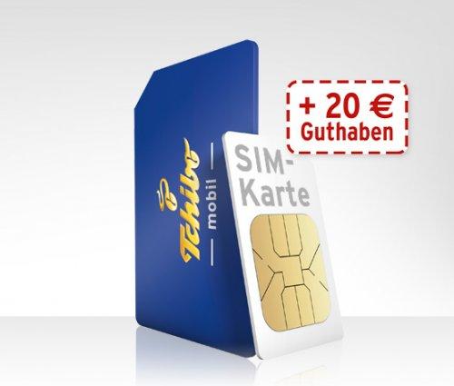 Tchibo Prepaidkarte inkl. 20 Euro Guthaben