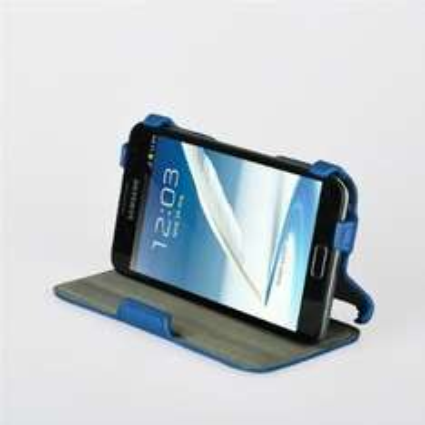 Ultra Slim Samsung Galaxy Note 2 N7100 Leder Case Blau für 2,95€ @ Amazon mit Prime / ansonsten +Versand.