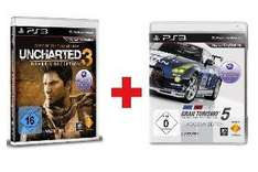 Sony Gran Turismo 5 Academy Edition + Sony Uncharted 3: Drake's Deception Game of the Year Edition für 27,95€ @Dealclub