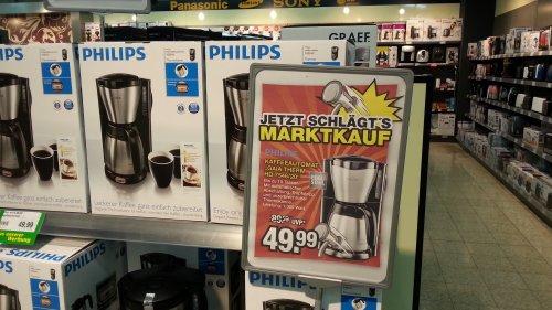 [Lokal Voerde] Philips Kaffeemaschine HD7546/20 bei Marktkauf