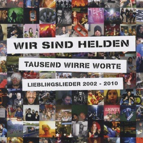 [CD + MP3] Wir Sind Helden - Tausend Wirre Worte. Lieblingslieder 2002-2010 für 4,27€