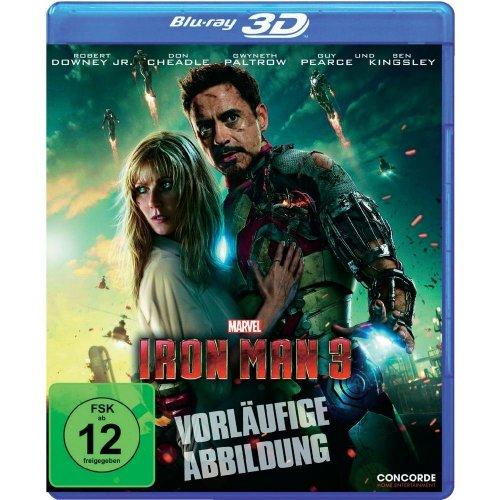 """3D-BluRay """"Iron Man 3"""" jetzt für 15 € bei Conrad vorbestellen (6% Qipu möglich)"""