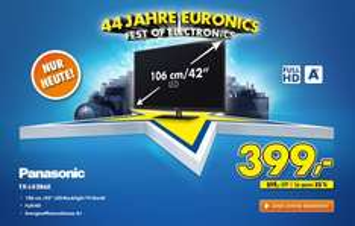 "Panasonic TX-L42B6E 106 cm (42"") LCD-TV mit LED-Technik für 399,00 €"