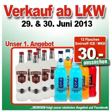 [NL] Smirnoff ICE 12 Flaschen €30,-