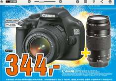 [Saturn  Berlin   ]  Canon EOS 1100D + EF-S 18-55 mm III DC + EF 75-300 mm III DC 344€