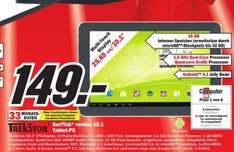 [ MM Heilbronn ]  TrekStor SurfTab ventos 10.1 25,7 cm (10,1 Zoll) Tablet PC (Rockchip, 1GB RAM, 16GB HDD, Android 4.1 Jelly Bean    ) WLAN b/g/n, Bluetoothschwarz 149€