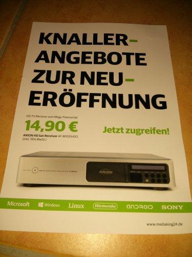 (Lokal Dortmund) Arion HD Sat Receiver AF-8000HDCI