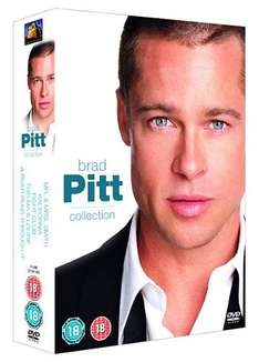 Brad Pitt Kollektion: Mr And Mrs Smith / Kalifornia / Fight Club / Thelma & Louise / A River Runs Through für nur 8,57£ (10,51€)