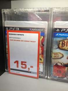 Bioshock Infinite Ps3 Version   (lokal Hamburg HBF/Mönckebergstraße)