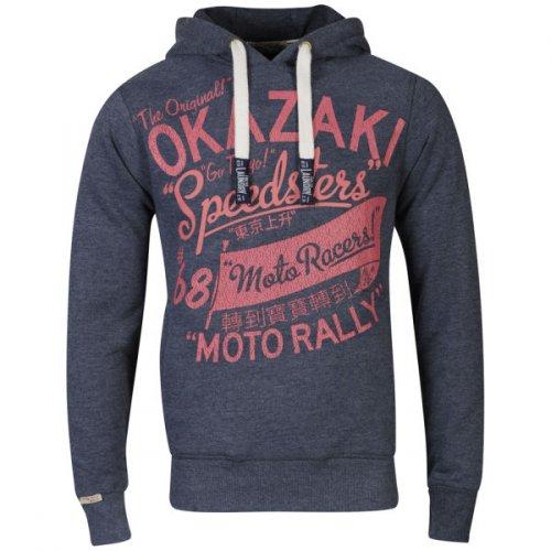 Tokyo Laundry Men's Willard Print Hooded Sweatshirt für 15€ @TheHut