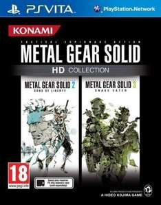 PS Vita - Metal Gear Solid: HD Collection für €17,55 [@zavvi.com]