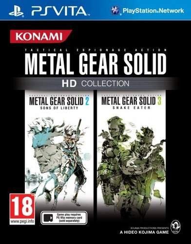 PS Vita - Metal Gear Solid: HD Collection für €17,55 [@zavvi.com]