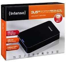 Intenso Memory Center 3TB USB 3.0 externe Festplatte HDD 3,5 Zoll 3000GB