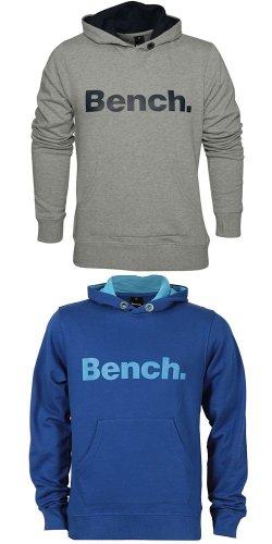 """BENCH.™ - Herren Kapuzenpullover/Hoodie """"Affront"""" (Grau,Blau) für €22,29 [@Asos.de]"""