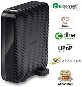 [Saturn HH] Buffalo Linkstation Live 3TB, Idealo ab 160€ (Netzwerkfestplatte/NAS mit DLNA, BitTorrent, auch für Time Machine Backups)