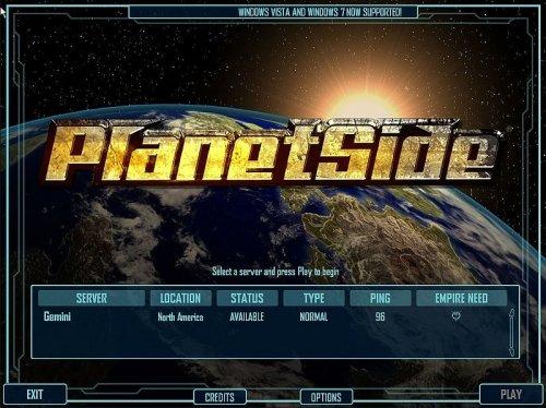 Planetside 1 kostenlos (für ehemalige Planetside 1 und 2 Abonnenten)