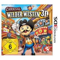 2K, 3DS Spiel Carnival Wild West [@Real.de]
