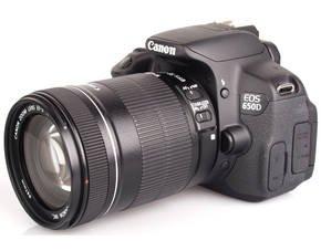CANON EOS 650D Kit + EF-S 18-135 mm Objektiv für 819 € bei MP