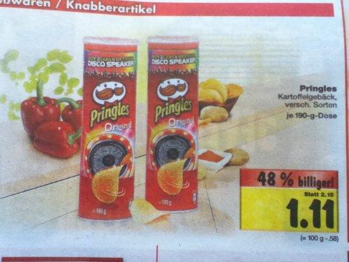 [Kaufland bundesweit] Pringles für 1,11 € ab 01.07.