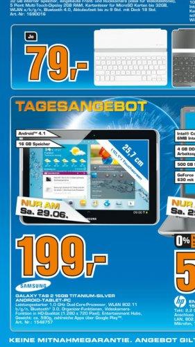 [Lokal Köln] Samsung Galaxy Tab 2 10.1 Wifi