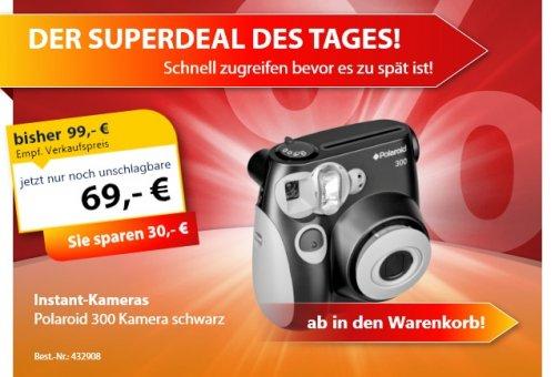 Polaroid 300 Sofortbildkamera nur 69 Euro statt 99 Euro