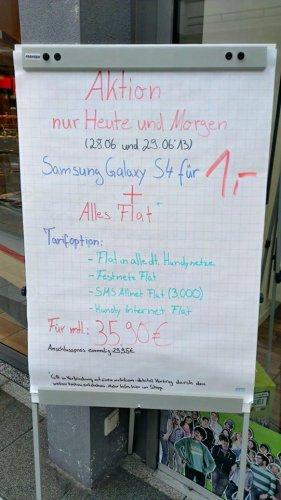 [Offline @ MD] S4 1€ inkl. Vodafone Allnet-Flat 35,90€ mtl. NUR NOCH MORGEN!