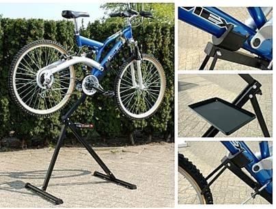 [Amazon] Fahrradmontageständer mit Werkzeugablage | Torrex 30122 | jetzt 26,90€ - 41%
