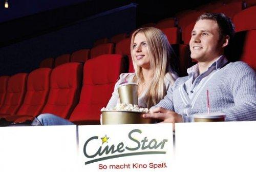 CINESTAR 11 Kinogutscheine für alle 2D-Filme an jedem Tag, Deutschlandweit