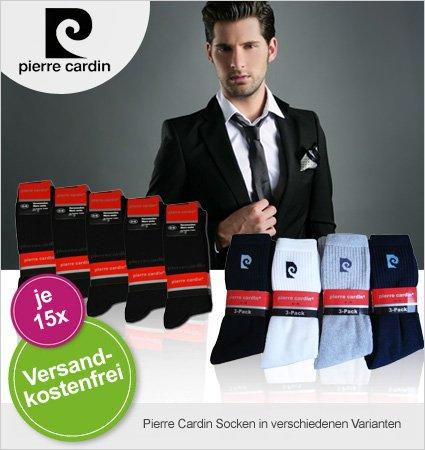 limango - 15 Paar Pierre Cardin Socken für 19,95€ statt 74,95€ UVP